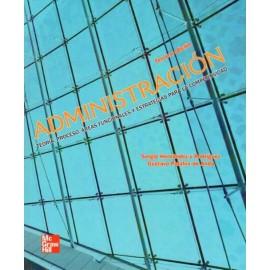 Administración teoría, proceso, áreas funcionales y estrategias para la competitividad - Envío Gratuito