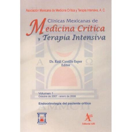 CMMCTI Vol. 1: Endocrinología del paciente crítico - Envío Gratuito