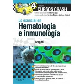Cursos crash: Lo esencial en Hematología e inmunología - Envío Gratuito