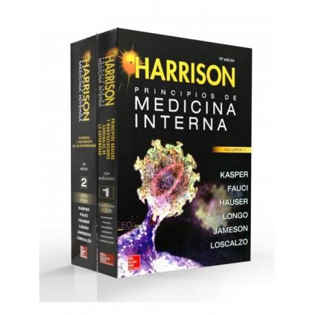 Harrison. Principios de Medicina Interna 2 Volúmenes - Envío Gratuito
