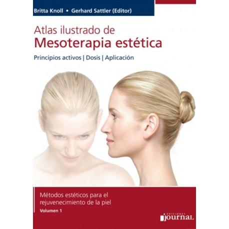Atlas Ilustrado de Mesoterapia Estética Journal - Envío Gratuito