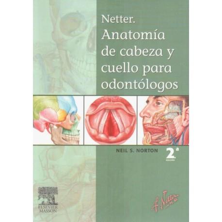 NETTER. Anatomía de Cabeza y cuello para odontólogos - Envío Gratuito