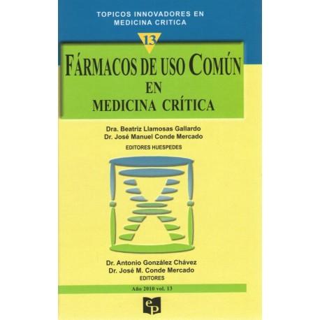 TIMC 13: Fármacos de uso común en medicina crítica - Envío Gratuito