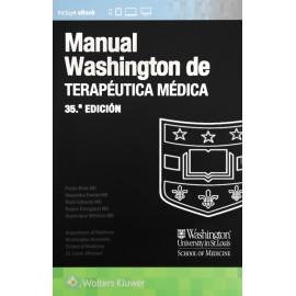 Manual Washington de terapéutica médica - Envío Gratuito