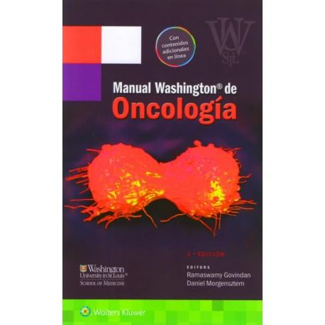 Manual Washington de oncología - Envío Gratuito