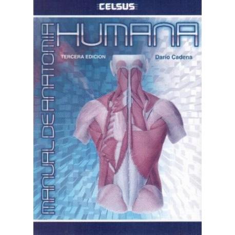 Manual de Anatomía Humana - Envío Gratuito