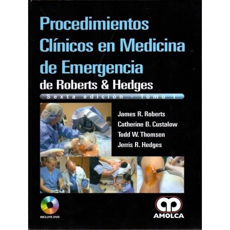 Procedimientos Clínicos en Medicina de Emergencia de Roberts & Hedges - Envío Gratuito