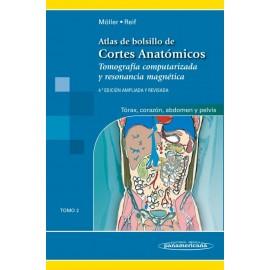 Cortes Anatómicos 2: Tórax, corazón, abdomen y pelvis - Envío Gratuito
