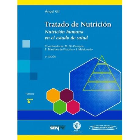 Tratado de Nutrición 4. Nutrición Humana en el Estado de Salud - Envío Gratuito